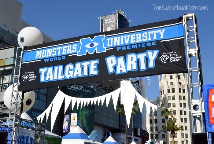 Monsters University Tailgate Party