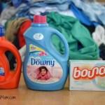 Tide + Downy + Bounce = Laundry Day!
