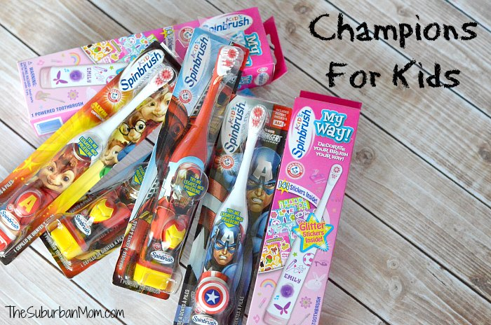 Champions For Kids Spinbrush