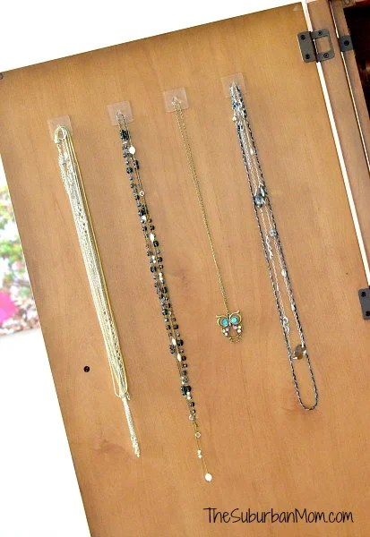 Gecko Tech Reusable Hooks DIY Jewelry Display