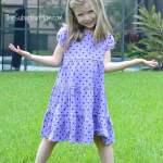 Gymboree Brightest In Class Purple Dot Dress