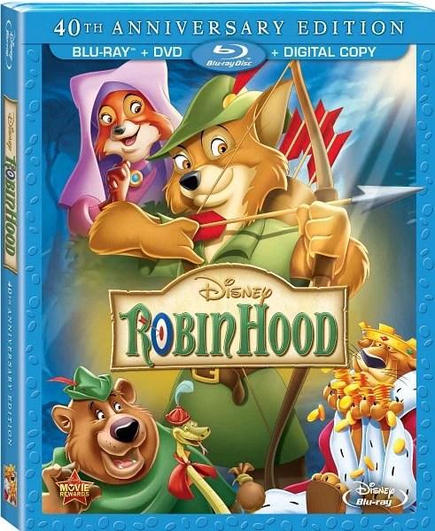 Robin Hood Disney Blu-Ray