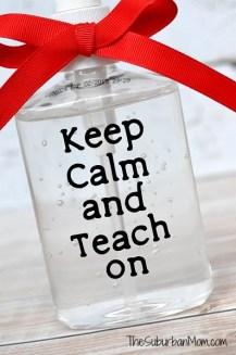 Teacher Gift Keep Calm And Teach On