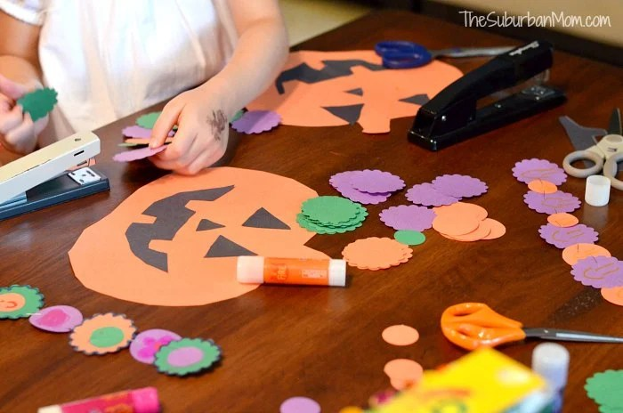 How to Make a Pumpkin Halloween Countdown Fiskars Project