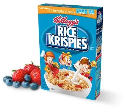 Rice Krispies Box Logo