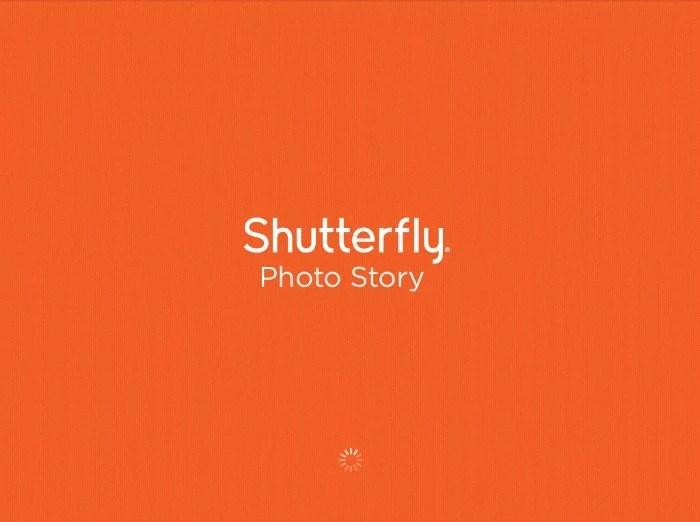 Shutterfly Photo Story iPad App