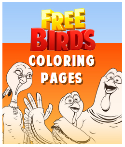 Free Birds Coloring Pages