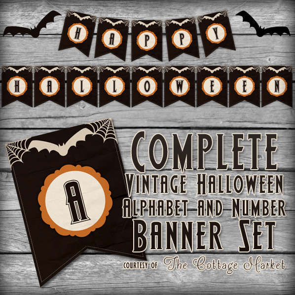 image about Printable Halloween Banners identified as 31 No cost Halloween Printables - TheSuburbanMom