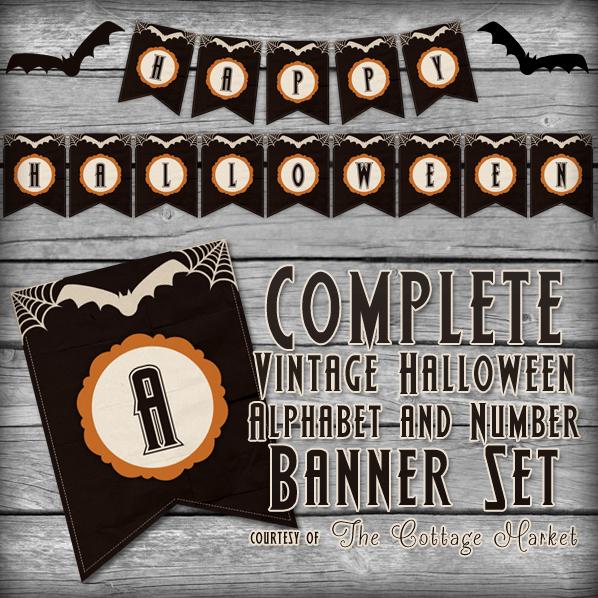 image relating to Printable Halloween Banners identify 31 Cost-free Halloween Printables - TheSuburbanMom