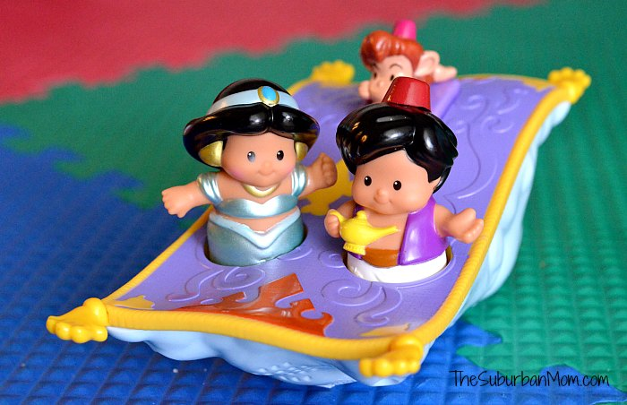 Little People Jasmine Aladdin Flying Carpet