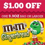 M&Ms Gingerbread coupon