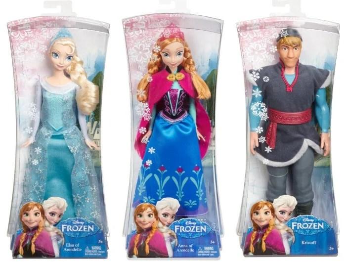 Disney Frozen Dolls Elsa Anna Kristoff