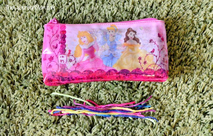 Disney Princess Crayon Bag