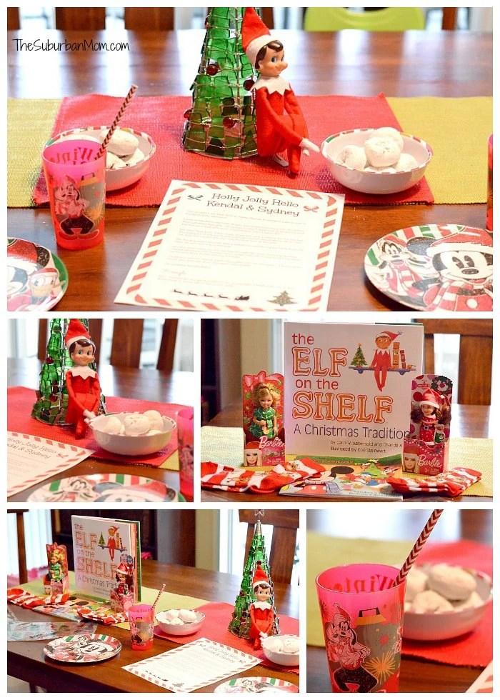 Elf on the Shelf Return Welcome Breakfast Ideas