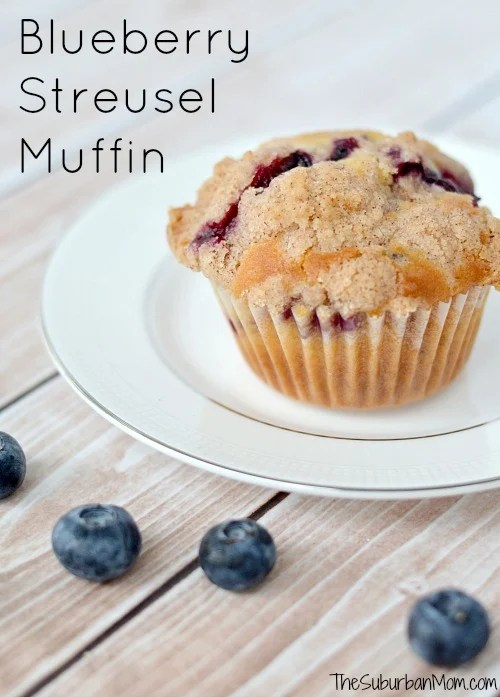 Blueberry Streusel Muffin Recipe