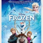 Disney Frozen Blu-Ray DVD