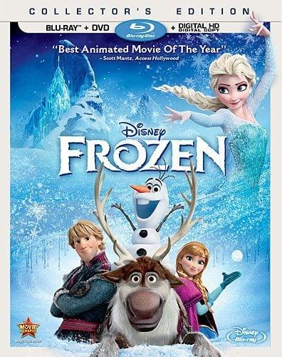 Disney Frozen Blu-Ray DVD
