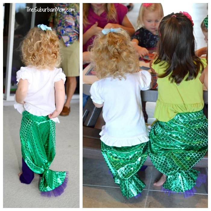 Little Mermaid DIY Tail