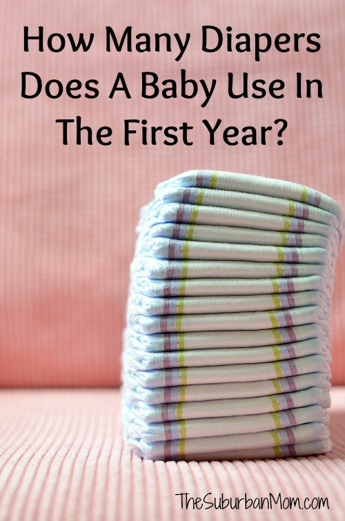 How Many Diapers Does A Baby Use In The First Year?