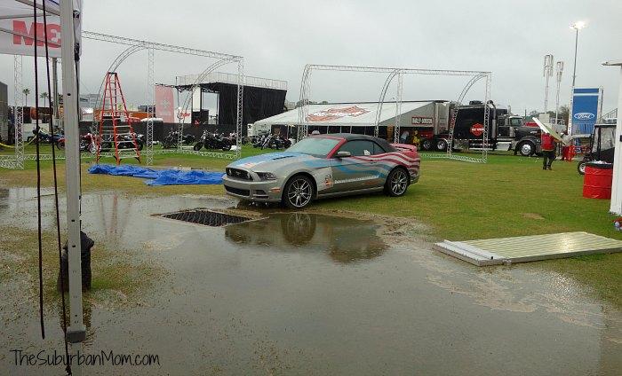 Race Around America Roush Mustang