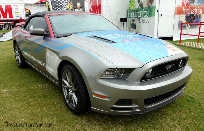 Roush Mustang Race Around America