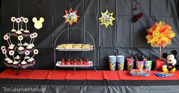 DisneySide Mickey Mouse Party