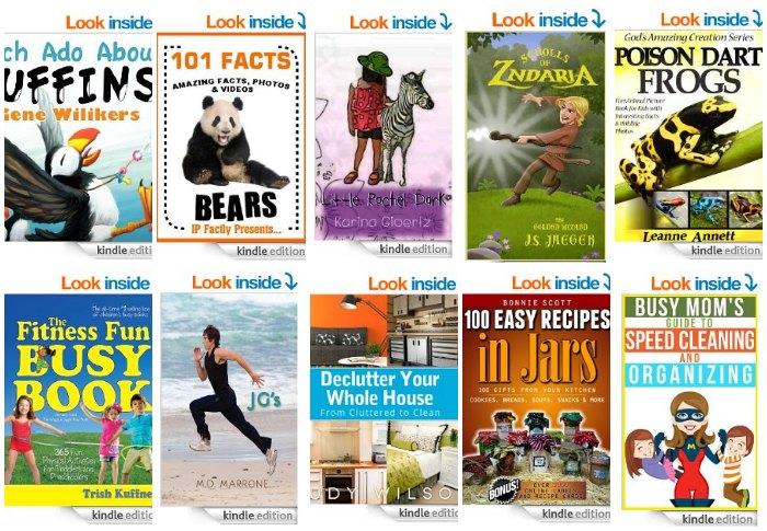 Free Kindle Children's Books 3.31.14