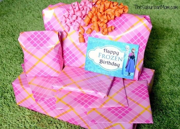 Frozen Birthday Gifts Card