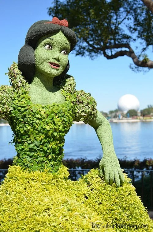 Snow White Flower Garden Epcot