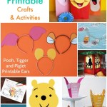 Winnie The Pooh Printable Crafts Activities