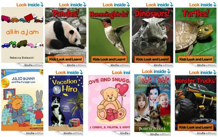 Free Kids Kindle Books April 17