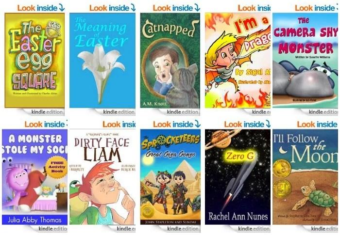 Free Kids Kindle Books April 18