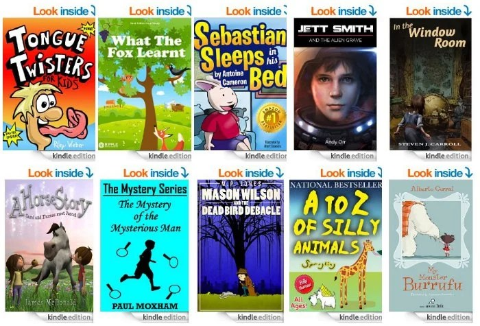Free Kindle Kids Books 4.14