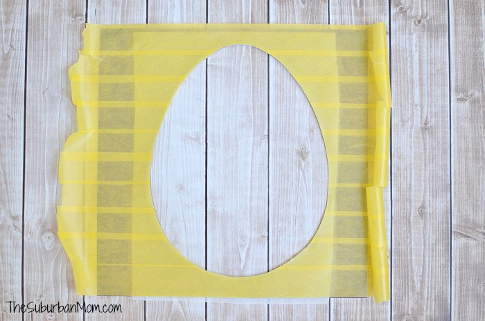 Frog Tape Craft Template