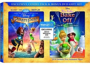 Tinker Bell Pirate Fairy Walmart Gift Set
