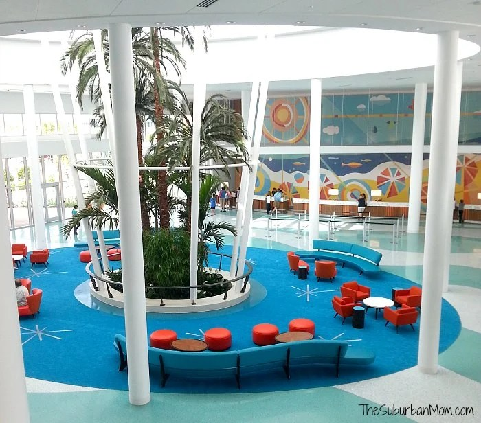 Cabana Bay Beach Resort Lobby