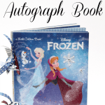 DIY Disney Frozen Autograph Book
