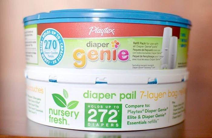 Diaper Genie Refill vs Generic
