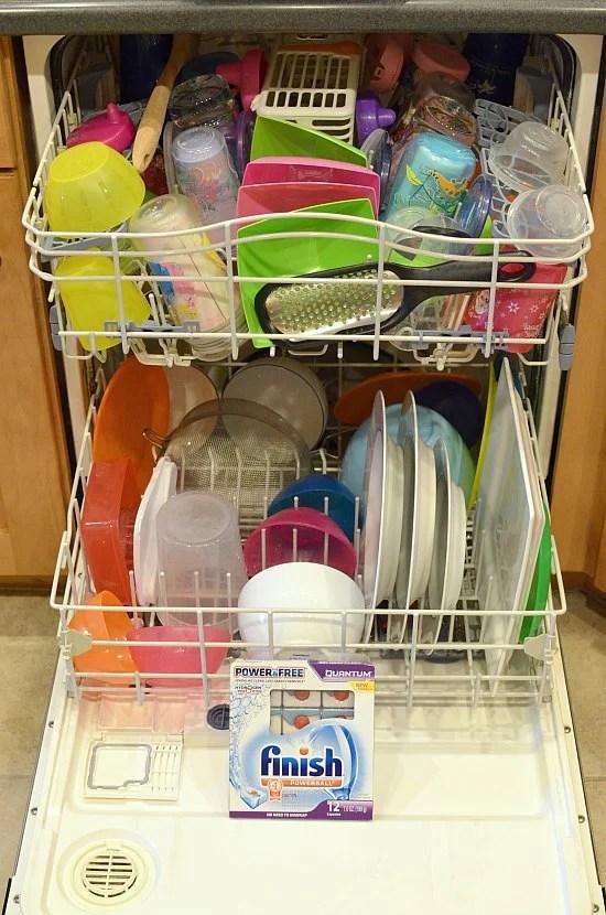 Finish Power Free Dishwasher