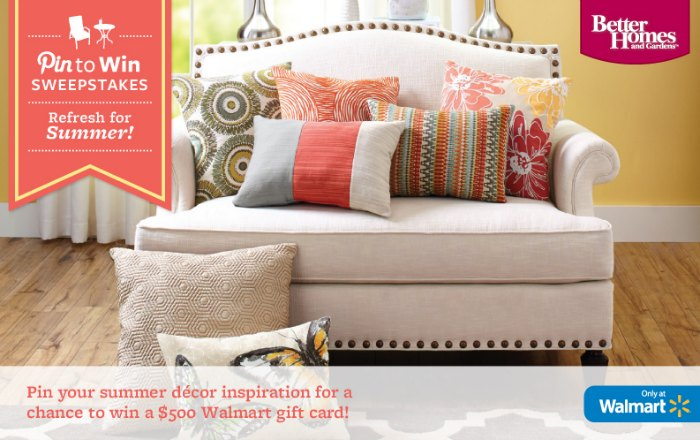 Better Homes Gardens Pin To Win