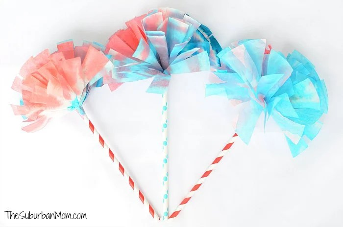 Coffee Filter Pom Pom Craft