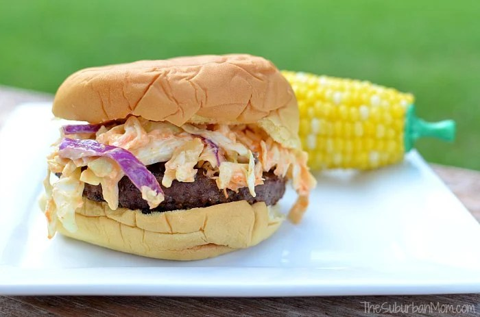 Miracle Whip Slaw Burger