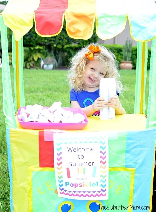 Popsicle Lemonade Stand