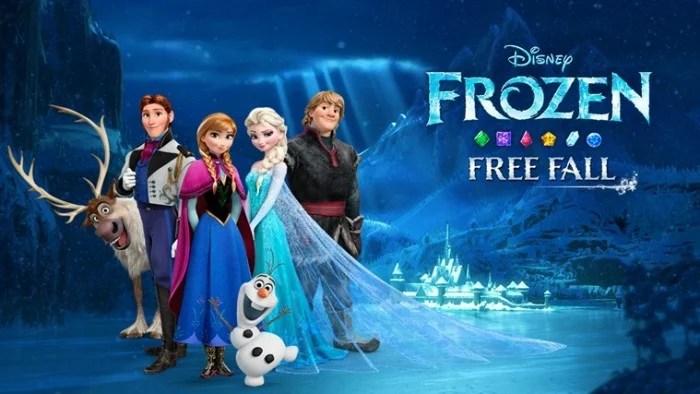 frozen-free-fall