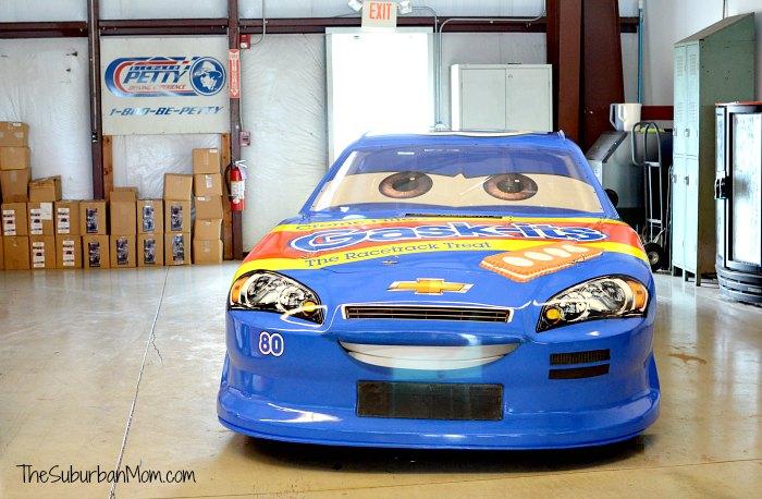 Richard Petty Sage VanDerSpin Cars Disney