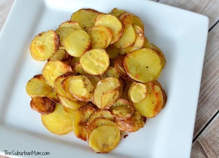 Roasted Potato Crisps Sidedish
