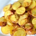 Easy Roasted Potato Crisps