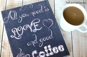 DIY Printable Canvas Sign