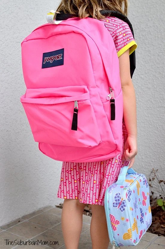 Staples Backpack Lunch Box