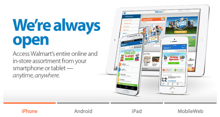 Walmart Mobile App